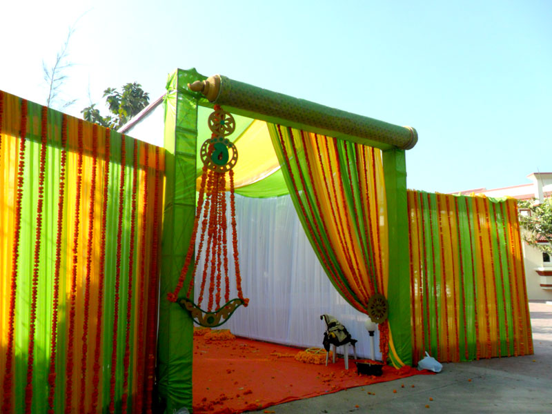 Gate decoration for marriage wedding gate decoration for International decor main gates