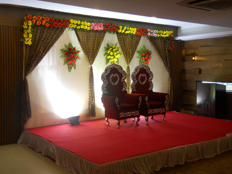 Stage Decoration Ahmedabad Stage For Wedding Party School